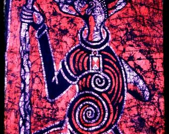 Batik Marabout (wise counselor)