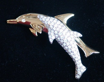 Swarovski Dolphin Pendant
