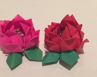 10 Rose place card holders or party favors