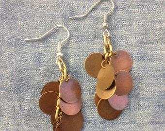 Brassy Bouquet Earrings