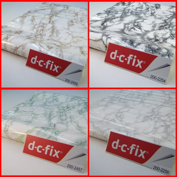 Contact paper dc fix marble pattern sticky back plastic self - Dc fix tischdecken ...