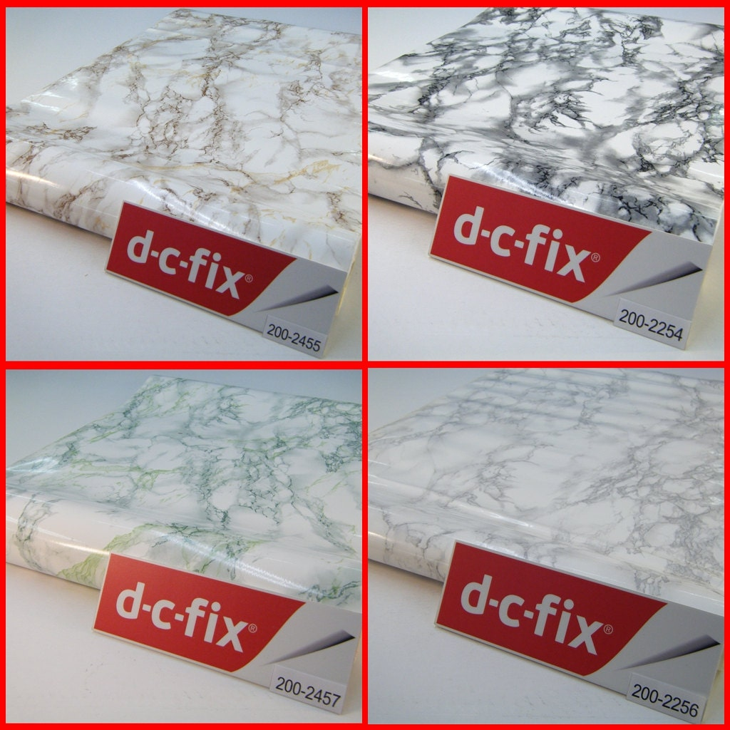 Contact paper dc fix marble pattern sticky back plastic self for Dc fix fensterfolie