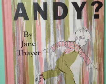 Where's Andy, hardback book, First Edition, 1954