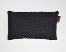 NEW! Designer Decorative European Fabric Square Black Cushion Cover