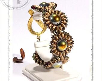 Sofita beaded bracelet PDF pattern