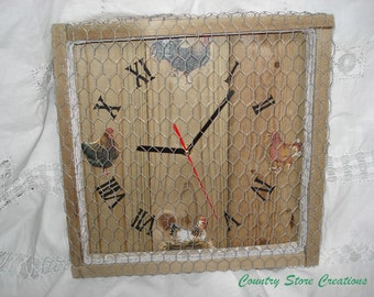 "Clock ""chicken coop"""