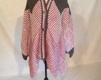 Harlequin Swing Coat