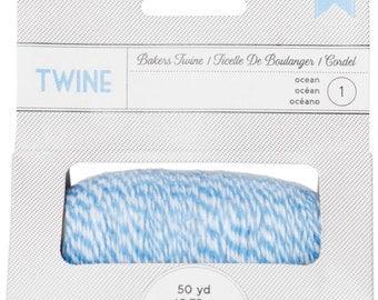 Amercan Crafts Baker's Twine Spool (50 Yards) - Ocean