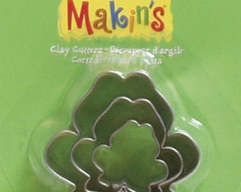 Makin's Clay Cutters (3 Pack) - Frog - Cookie Cutters