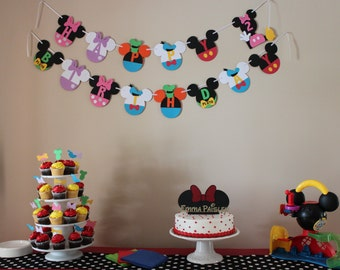 Mickey's Clubhouse Banner