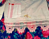 Half Apron, vintage products, newly sewn