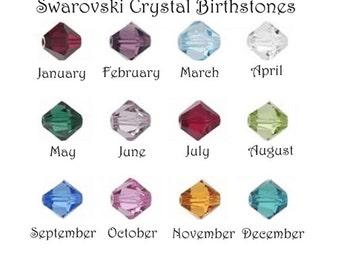 Swarovski Crystal Birthstone Upgrade