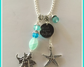 Wish upon a Starfish Necklace