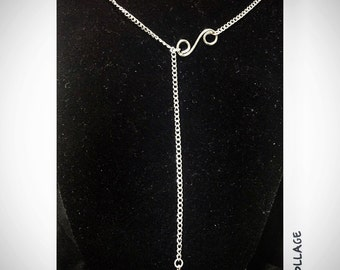 Elegance With A Twist- Handmade Necklace