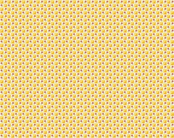 Bloom and Bliss Yellow Check by Nadra Ridgeway for Riley Blake Designs - C4583-Yellow - 1/2 yard cut