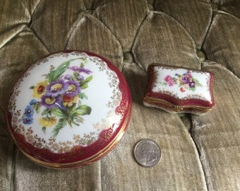 SALE!! FREE SHIPPING! Precious 2 piece Limoges France set.