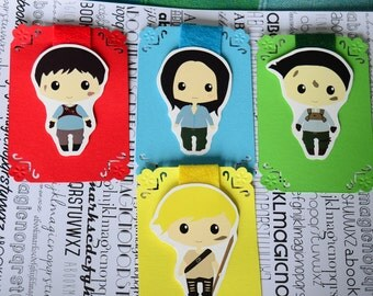 The maze runner magnetic bookmarks