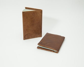 Valentine's Gift - Gift for Traveler man - Gift for couple - Leather Passport cover - Coverage passport - Gift for Dad - Travel with Style