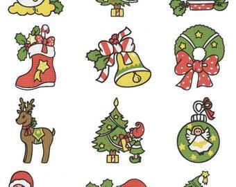 Christmas Embroidery Design CD