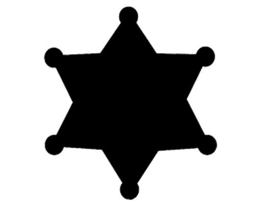 Book Folding Pattern And FREE Tutorial Sheriff Star 6