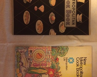 Lot of 2 vintage Metropolitan Life cookbooks