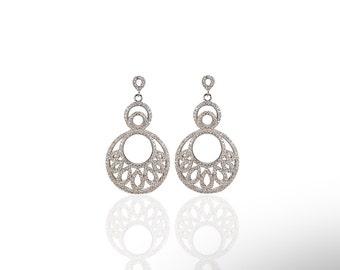 Dreamcatcher Earring 925 / Sterling Silver