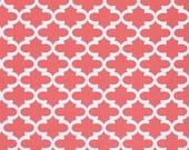 Premier Prints Fulton in Coral Twill Home Decor fabric, 1 yard