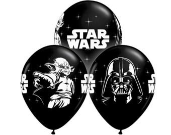 """Star Wars 11"""" Balloons Latex Balloons Star Wars Movie Darth Vader Yoda"""