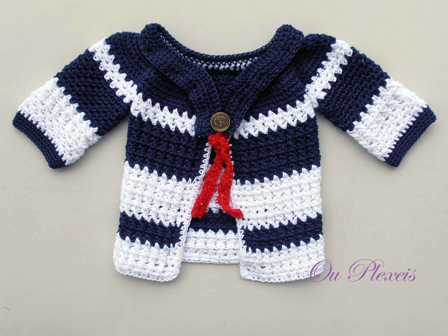 Baby cardigan crochet girl cardigan crochet boy sweater