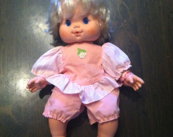 Strawberry Shortcake Baby Doll Needs a Name Blow Kiss Doll