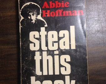 Steal This Book by Abbie Hoffman FIRST EDITION