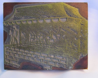 Printers Copper Block, Grill