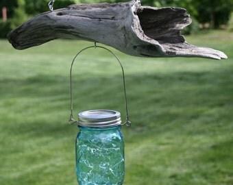 Driftwood Mason Star Jar Light