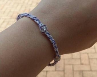Plait, beaded friendship bracelet