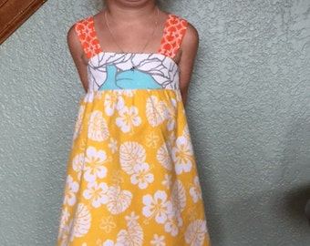 Adorable girls size 4  colorful summer dress