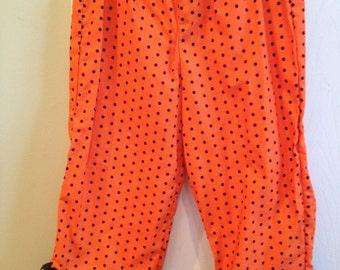 Girl's Ruffled Halloween Pants