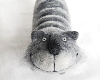Tabby - felt cat