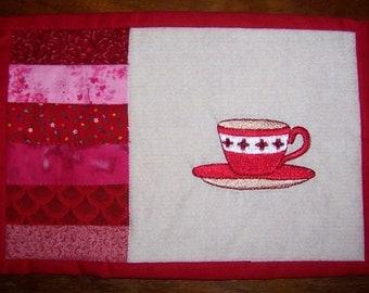 Coffee Cup Mug Rug