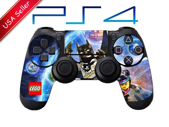 lego dimensions playstation 4 ps4 controller skin by. Black Bedroom Furniture Sets. Home Design Ideas