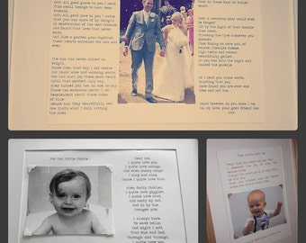 Bespoke Poems & Personalised Gifts