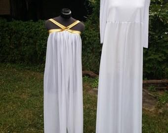 Dance garment overlay White