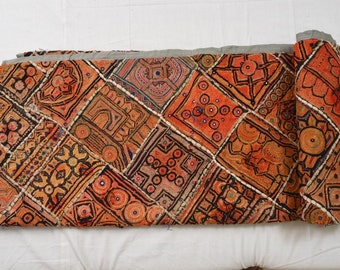 Vintage Hand-Embroided Wall Hanging Bedcover Indian Bedsheet Ethnic Bedcover Handmade Bedspread