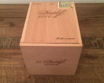Davidoff 6000 cigar box