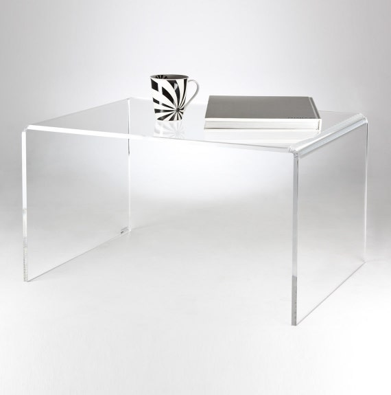Clear Acrylic Coffee Table Premium Acrylic Made In The UK