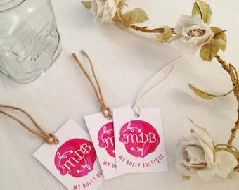 50 Business Gift Tags - Your Logo