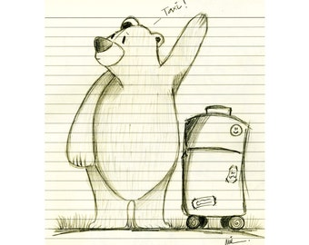 Illustration Taxi!