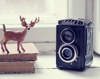Vintage soviet camera LUBITEL 2