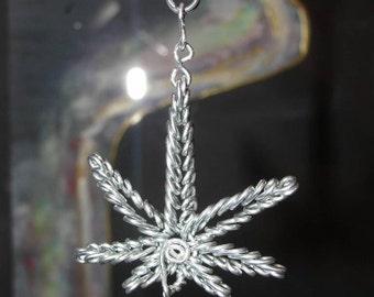 Kannabis keychain/pendant/earrings, free shipping