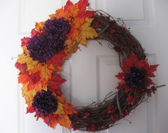 Fall time wreath