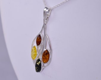 Gorgeous Standout Simple Pendant Amber